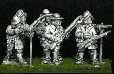 28mm thirty years war Musketeers