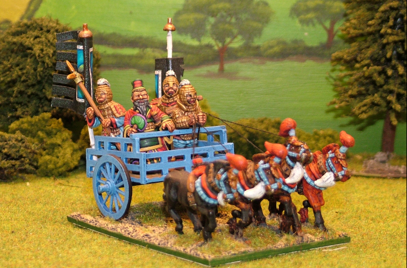 28mm chinese warring states heavy chariot