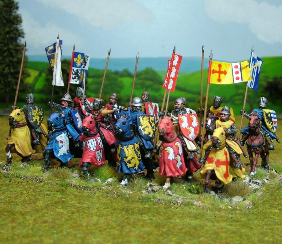 Medieval Mounted Knight Deal 01
