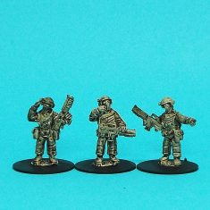 25mm colonial troopers starship marines