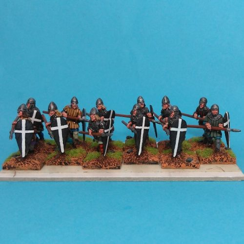 Painted figures available to buy.