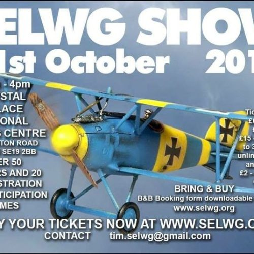 Our next show is SELWG