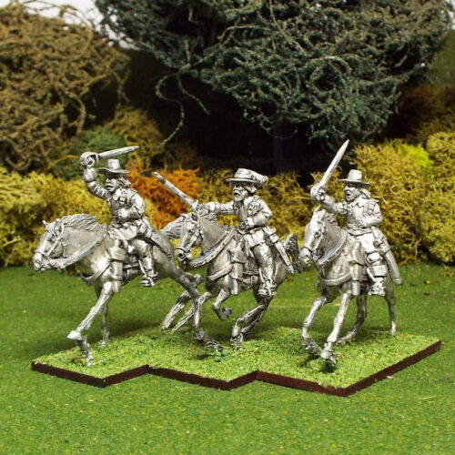 28mm English Civil War Cavalry in Brimmed hats released.