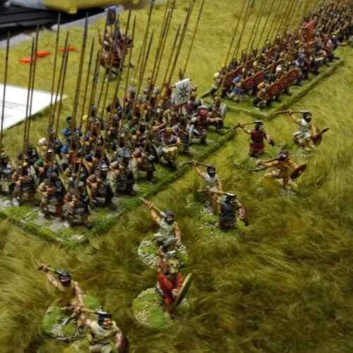 Macedonian Successors v's Classical Indian game using War and Conquest rules.